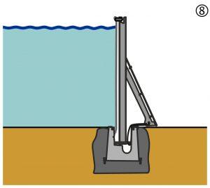 Mobiler Hochwasserschutz, AquaWand