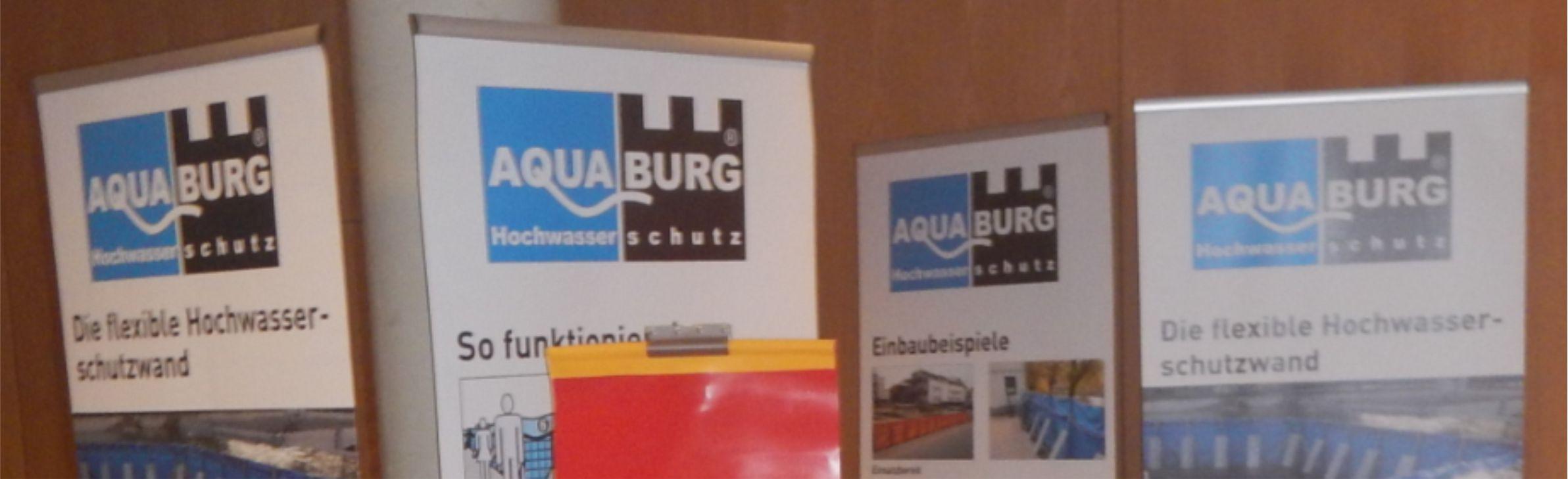 Aquaburg Messestandausschnitt