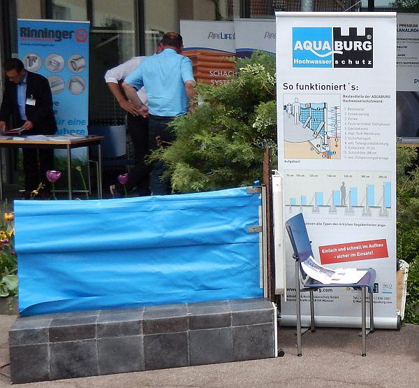 Starkregen-Forum 2017: Die Aquawand100L