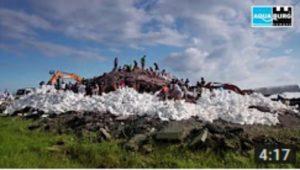 Film mobiler Hochwasserschutz AquaWand
