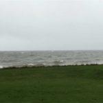 Die AquaWand an der Küste