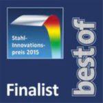 Aquaburg Auszeichnung bestof Stahlinnovationspreis 2015