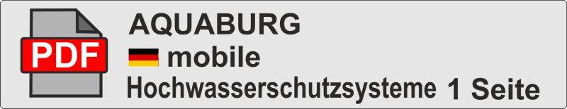 Aquaburg pdf Übersicht mobile Hochwasserschutzsysteme