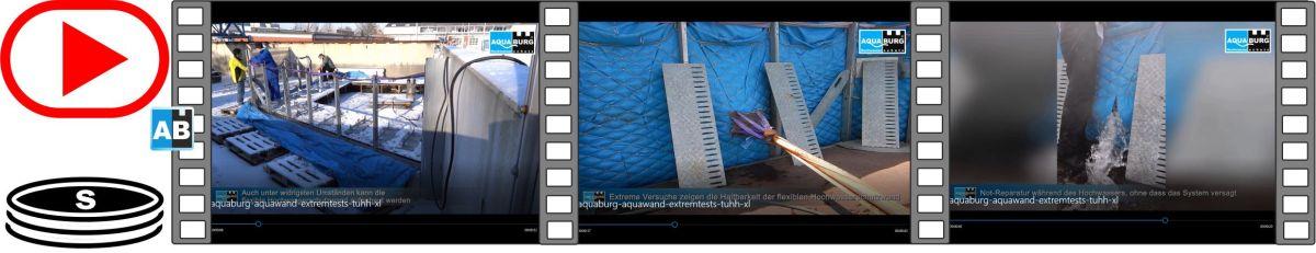 Film der verschiedenen Extremtests in der Versuchsanlage der TUHH