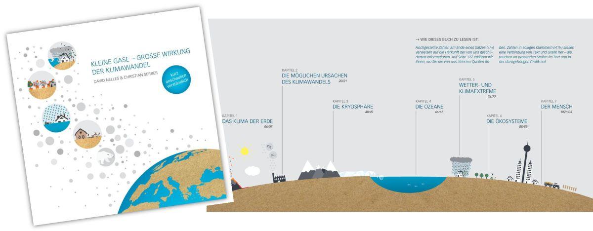 Buch Kleine Gase - grosse Wirkung - Der Klimawandel