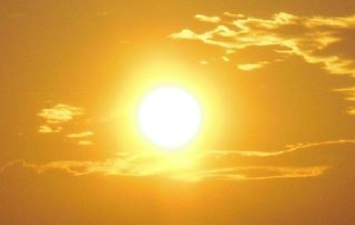 Bild von der Sonne