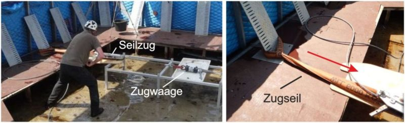 Aquaburg Extremtests auf den Deckel