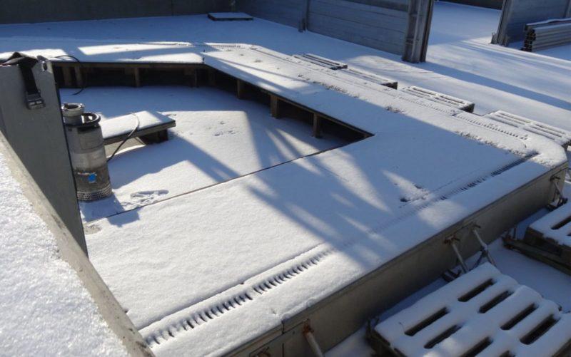 Aquaburg neue Anforderungen der Winter